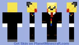 PikaSuit Minecraft Skin