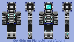 My Cyber suit (Contest) Minecraft Skin