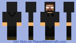 Herobrine Thug Minecraft Skin