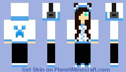 hoodie girl Minecraft Skin
