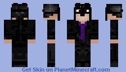 evil steven Minecraft Skin