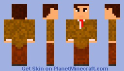 Rowan Atkinson - Mr. Bean Minecraft Skin