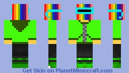that rainbow guy Minecraft