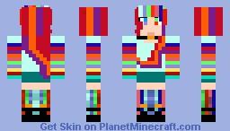 Rainbow Dash :D Minecraft Skin