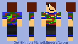 BlueSparris in HD Minecraft Skin