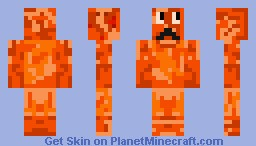Bacon Mob (cooked) Minecraft Skin