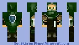 Elven Ranger (Masked) Minecraft Skin