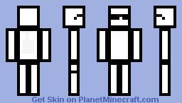 zTemplatez's Cartoon Skin ! Minecraft Skin
