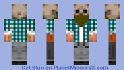 Fresh skull! Minecraft Skin