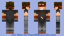 Kenshi [Mgreat's Mortal Kombat Kontest] Minecraft Skin