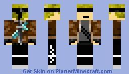 Blind Warrior Minecraft Skin