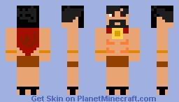 Sparta Man Minecraft Skin