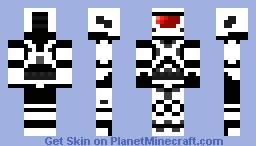 !halo ice spartan! [evil] Minecraft Skin