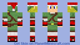 christmas link Minecraft Skin