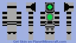 Tim The Robot Minecraft Skin