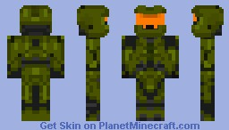 Master Chief x105  Halo 4 Minecraft Skin
