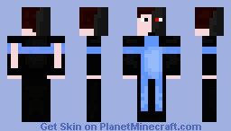 Half Robot Half Man Fighter X Minecraft Skin