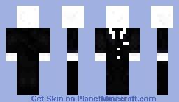 Slenderman (Black tie) Minecraft Skin
