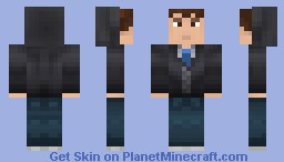 Casual Guy with Hoodie for SkillCraftServer Minecraft Skin