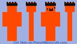 Derpy Orange Minecraft Skin