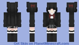 yukino yukinoshita Minecraft Skin