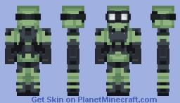 post apocalypse protection Minecraft Skin