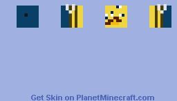 BAV  Ugly Bee Minecraft Skin