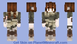 faun -=+=- medieval character Minecraft Skin