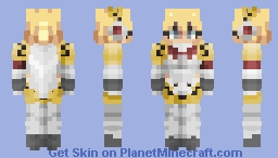 Aigis - Persona 3 Minecraft Skin