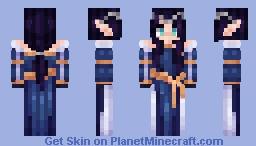 Medieval Royal Elf Minecraft Skin