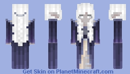 Look, it's a dark elf! Minecraft Skin