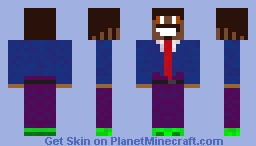MC Hammer Minecraft Skin