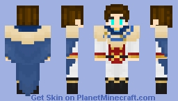 My skin as a member of Golden Dawn (Black Clover Anime) Minecraft Skin