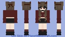 Demon Girl w/ Headband Minecraft Skin