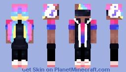 P A R T Y   B O Y Minecraft Skin