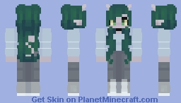 my little alien Minecraft Skin