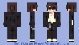 Brunette boy (Loooper skin reshade) Minecraft Skin