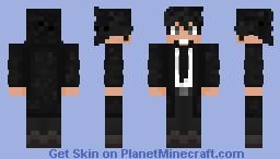 Fashion suit Minecraft Skin
