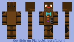 Chocolate Bonnie - FNaF AR: Special Delivery Minecraft Skin