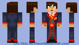 Male Jesse Gryfindor Student (Story Mode) Minecraft Skin