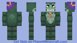 Gus Gorilla - Willy's Wonderland Minecraft Skin