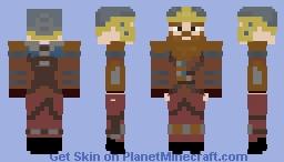 Dwarven Warrior Minecraft Skin