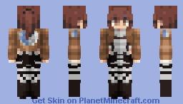 Sasha Braus Minecraft Skin