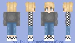 Vans Boy Minecraft Skin