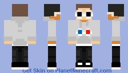 Georgenotfound new merch hoodie Minecraft Skin