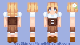 medieval girl thingy Minecraft Skin