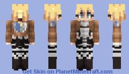 Historia Reiss Minecraft Skin