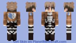 Jean Kirstein Minecraft Skin