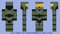 Máster Chief Minecraft Skin