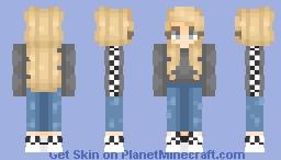 Vans Girl Minecraft Skin